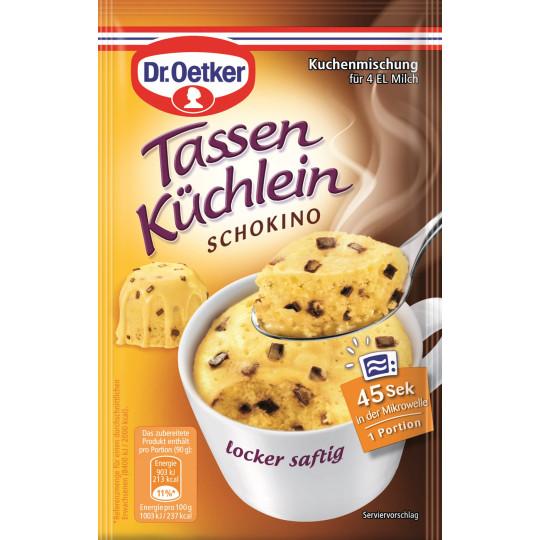 Dr.Oetker Tassenküchlein Schokino 50 g