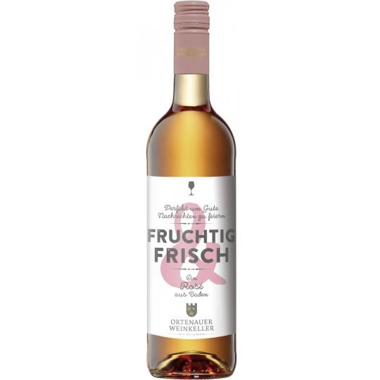 Ortenauer Weinkeller Fruchtig & Frisch Rosé feinherb 0,75L