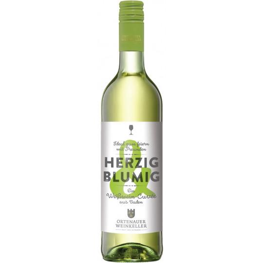 Ortenauer Weinkeller Herzig & Blumig Weißwein Cuvée feinherb 0,75L