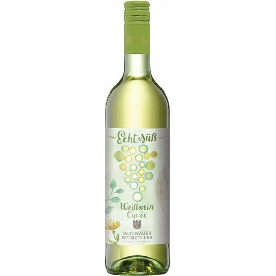 Ortenauer Weinkeller Echt Süß Weißwein Cuvée 0,75L