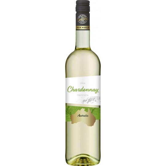 OverSeas Australien Chardonnay Weißwein 0,75 ltr