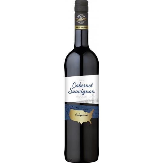 OverSeas Kalifornien Cabernet Sauvignon Rotwein 0,75 ltr