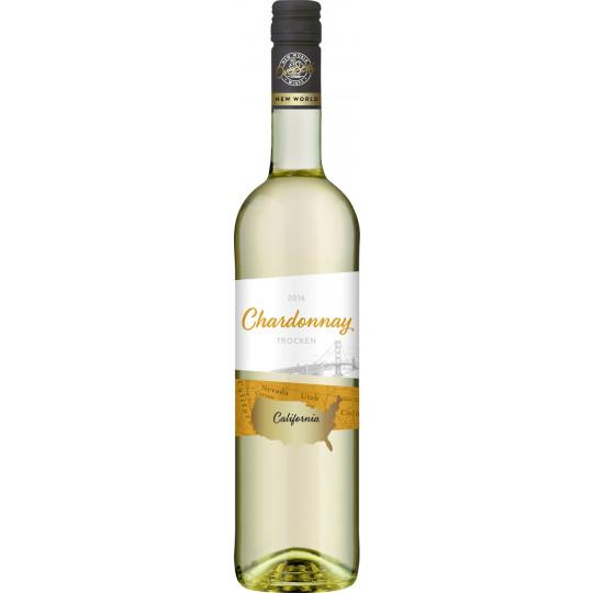 OverSeas Kalifornien Chardonnay Weißwein 0,75 ltr