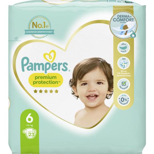 Pampers Premium Protection Extra Large Windeln Gr.6 13-18kg 23ST