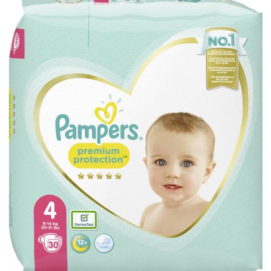 Pampers Premium Protection Maxi Windeln Gr.4 9-14kg 30ST