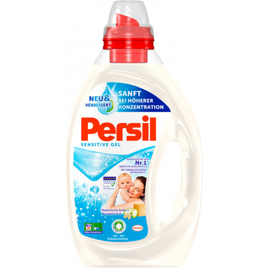 Persil Sensitive Gel 1 ltr 20 WL