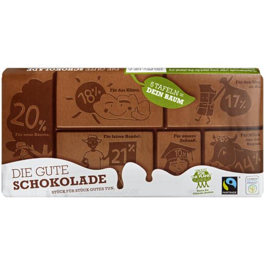 Plant for the Planet Die Gute Schokolade Fairtrade 100G