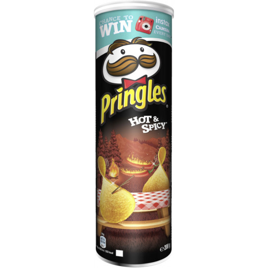 Pringles Hot & Spicy 200G