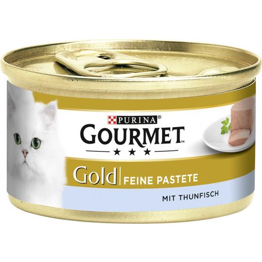 Purina Gourmet Gold Feine Pastete mit Thunfisch 85G