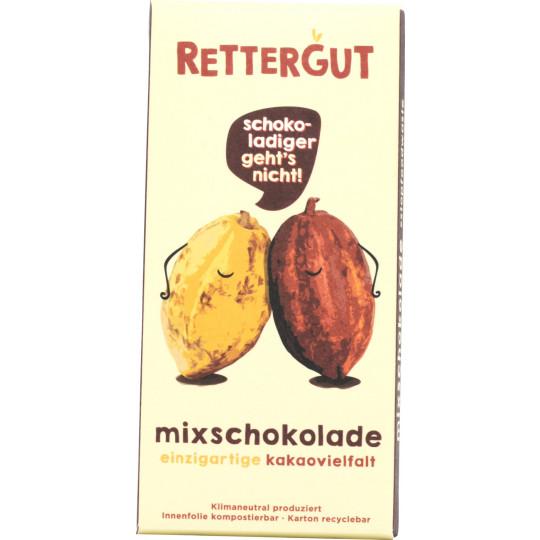 Rettergut Mixschokolade Tafel 80G