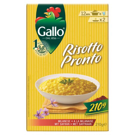 Gallo Risotto Pronto mit Safran 210 g