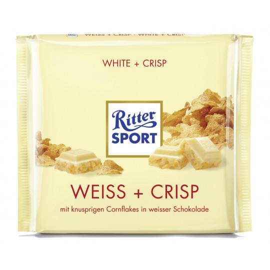 Ritter Sport Weiss + Crisp 250 g