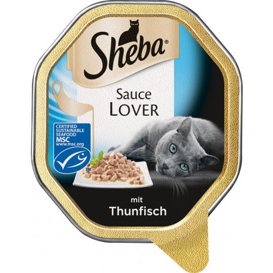 Sheba Sauce Lover mit Thunfisch 85G