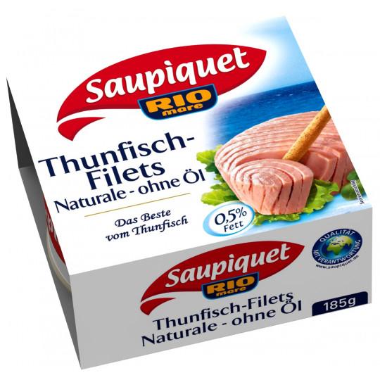 Saupiquet Thunfischfilets Naturale ohne Öl 185 g