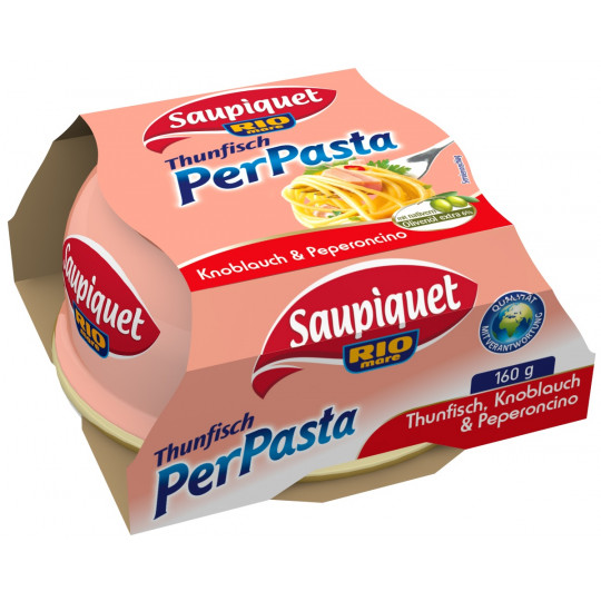 Saupiquet Thunfisch für Pasta Knoblauch & Peperocino 160 g