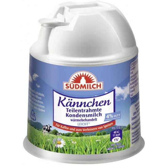 Südmilch Kaffeesahne Kännchen 4% Fett 200 g