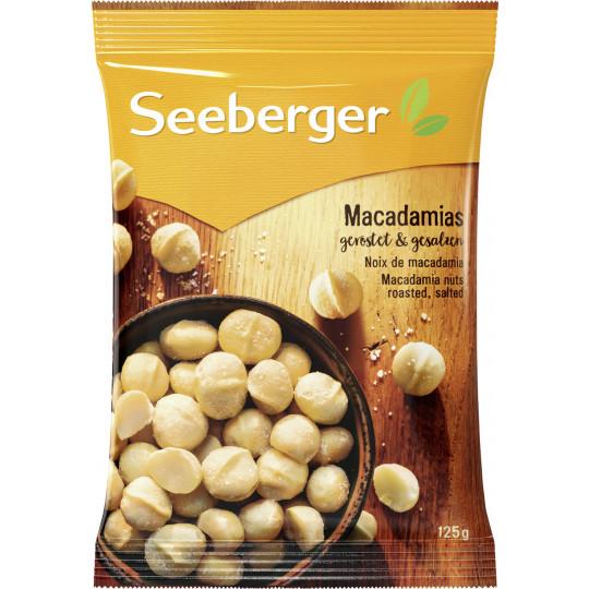 Seeberger Macadamias geröstet & gesalzen 125 g