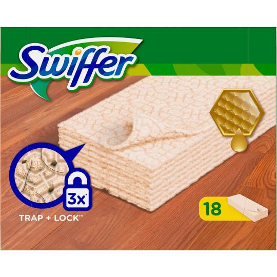 Swiffer Trockene Anti-Staubtücher Holz & Parkett 18 Stück
