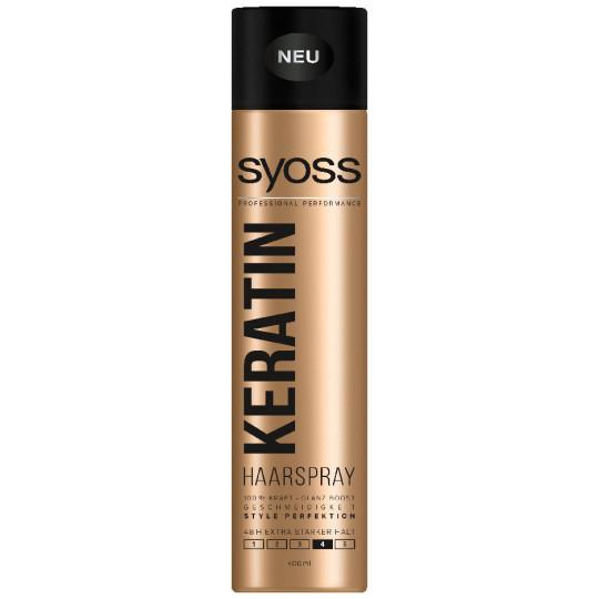 Syoss Haarspray Keratin extra stark Haltegrad 4 0,4 ltr