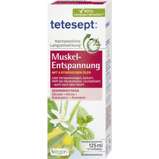 Tetesept Muskel-Entspannung Bad 125 ml
