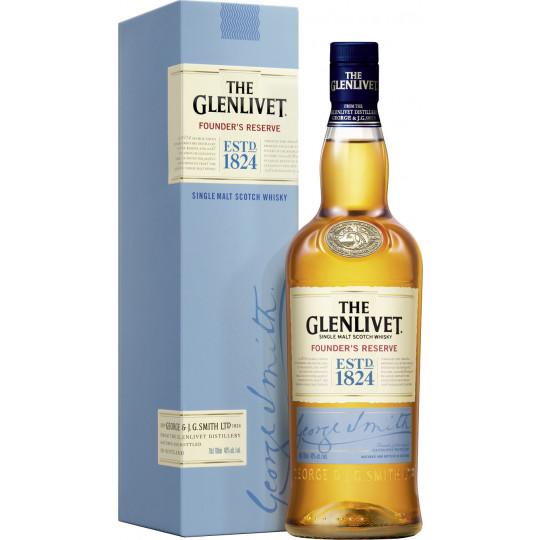 The Glenlivet Founders Reserve Single Malt Whisky 40% 700ml
