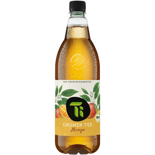 Ti Bio Grüner Tee und Mango 1 ltr PET