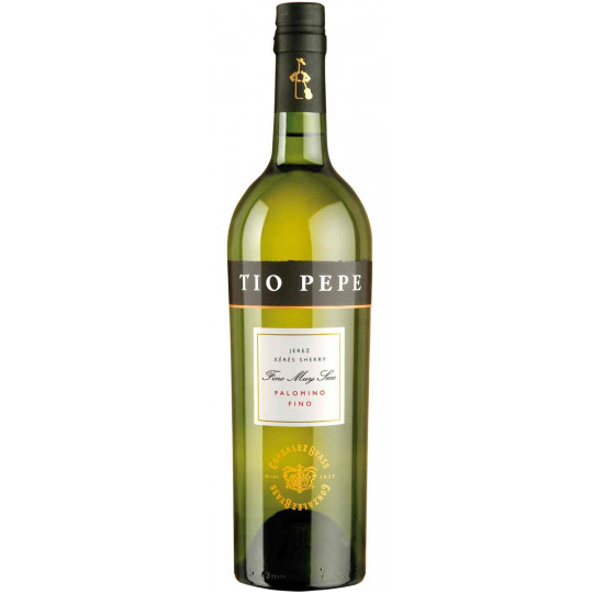 Tio Pepe Sherry Palomino Fino Muy Seco 0,75 ltr