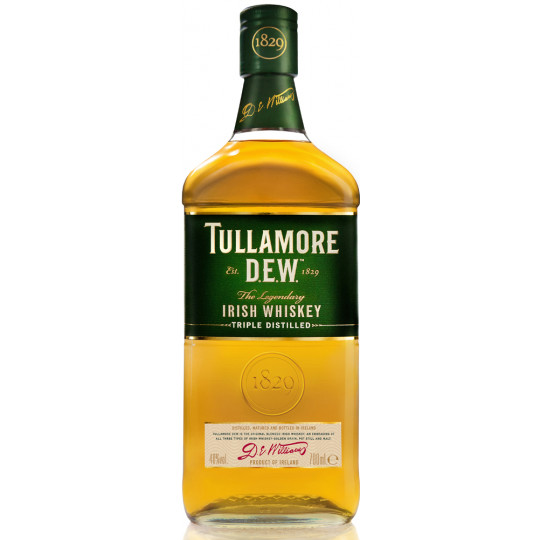 Tullamore Dew Irish Whiskey 40% 700ml