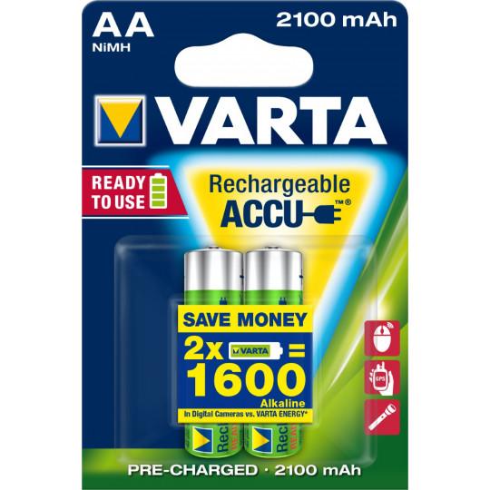 Varta Rechargeable ACCUS AA 2 Stück