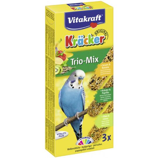 Vitakraft Kräcker Trio-Mix Sesam & Banane 3x 30 g