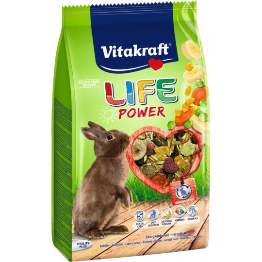 Vitakraft Zwergkaninchenfutter Life Power 0,6 kg