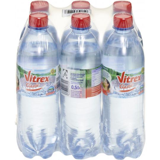 Vitrex Mineralwasser Classic PET 6x500ml
