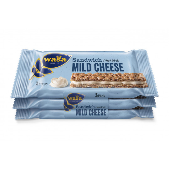 Wasa Sandwich Mild Cheese 90 g