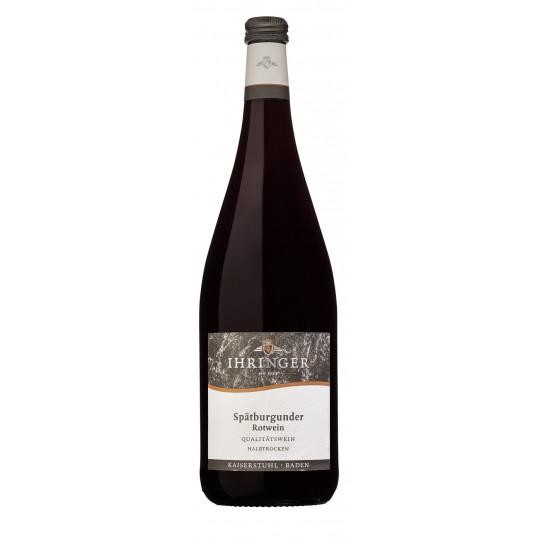 Ihringer Spätburgunder Rotwein halbtrocken 1 ltr