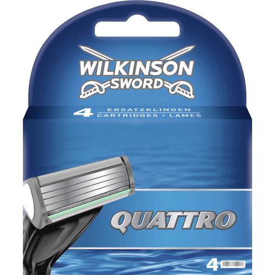 Wilkinson Quattro Rasierklingen 4 Stück