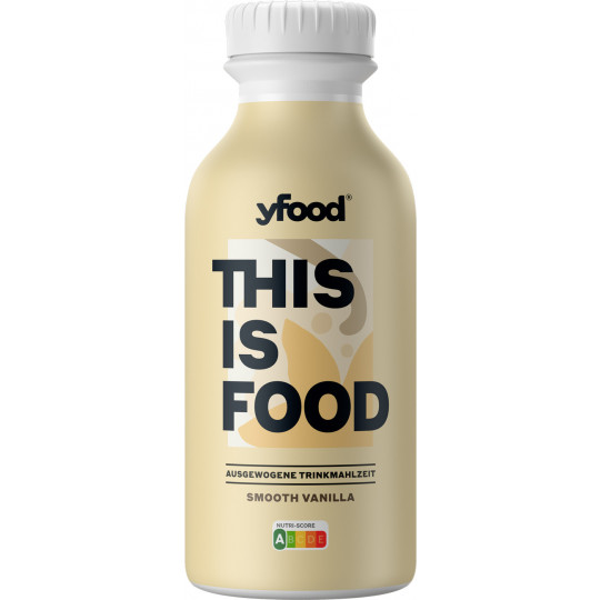 YFood Smooth Vanilla Trinkmahlzeit 500ML