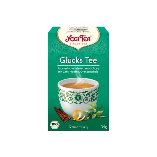 Yogi Tea Bio Glückstee 17ST 34G