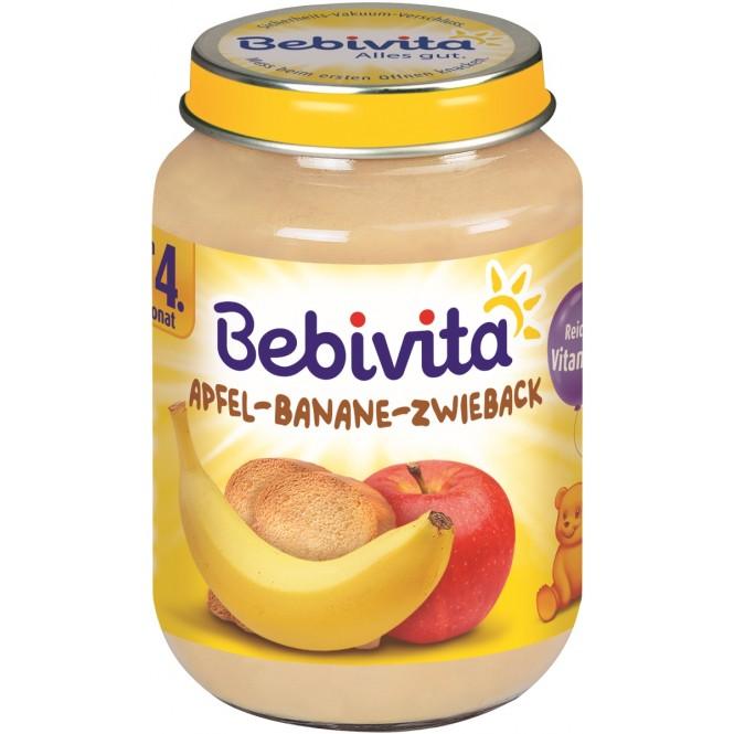 Bebivita Apfel-Banane-Zwieback nach dem 4. Monat