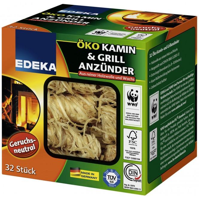 EDEKA Öko Kamin & Grill Anzünder