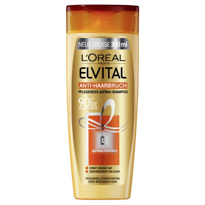 edeka24 elvital anti haarbruch shampoo online kaufen. Black Bedroom Furniture Sets. Home Design Ideas
