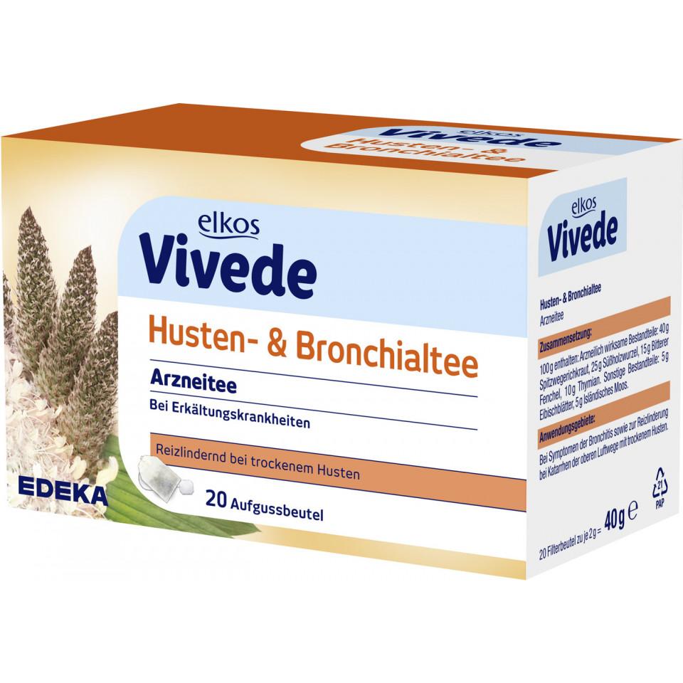 Edeka24 Elkos Vivede Husten Bronchialtee 20x 2 G Online Kaufen
