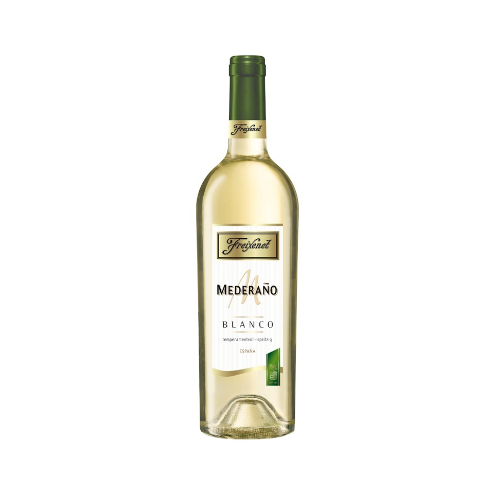 Freixenet Mederano Blanco Weißwein halbtrocken 2017