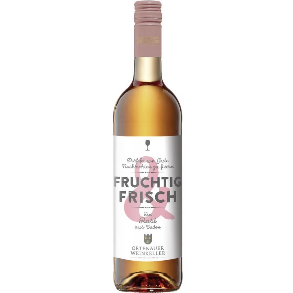 Ortenauer Weinkeller Fruchtig & Frisch Rosé feinherb 2017