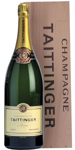 Besondere Geschenkideen von Edeka: Taittinger Champagner Brut Reserve Jerob