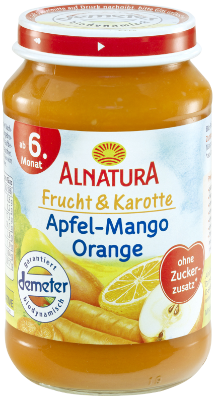 edeka24 alnatura bio frucht karotte apfel mango orange ab dem 6 monat online kaufen. Black Bedroom Furniture Sets. Home Design Ideas