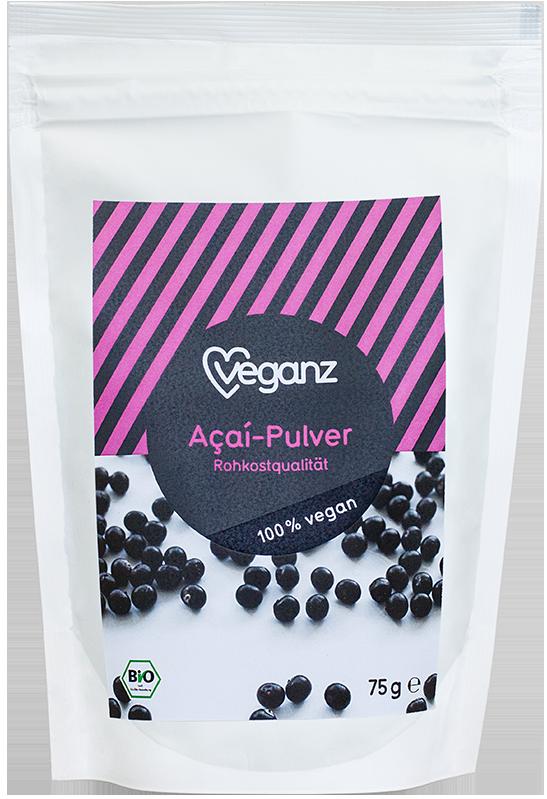 Veganz Bio Acai Pulver vegan 75 g
