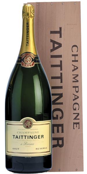 Besondere Geschenkideen von Edeka: Taittinger Champagner Brut Reserve METHU