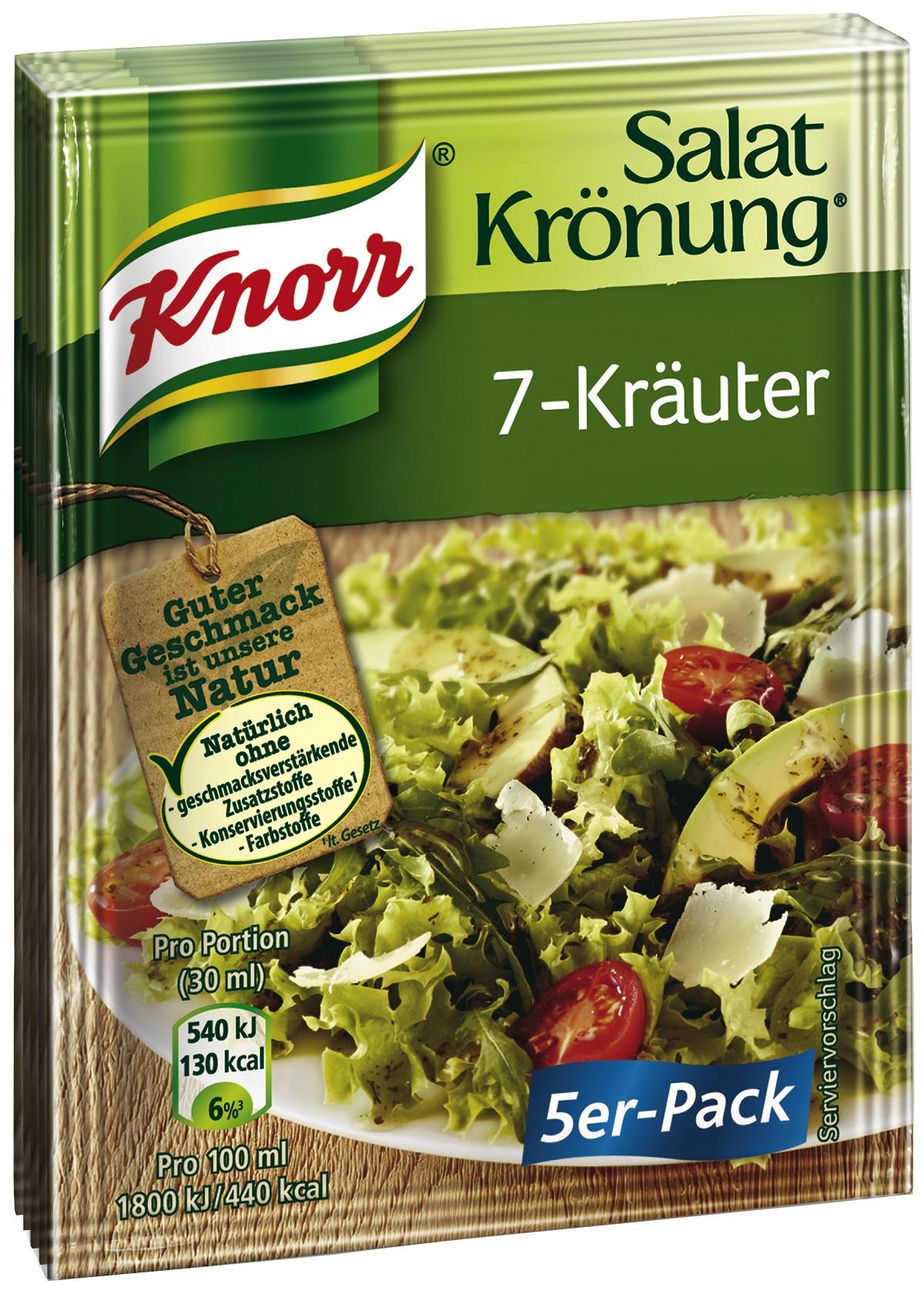 edeka24 knorr salatkr nung 7 kr uter online kaufen. Black Bedroom Furniture Sets. Home Design Ideas