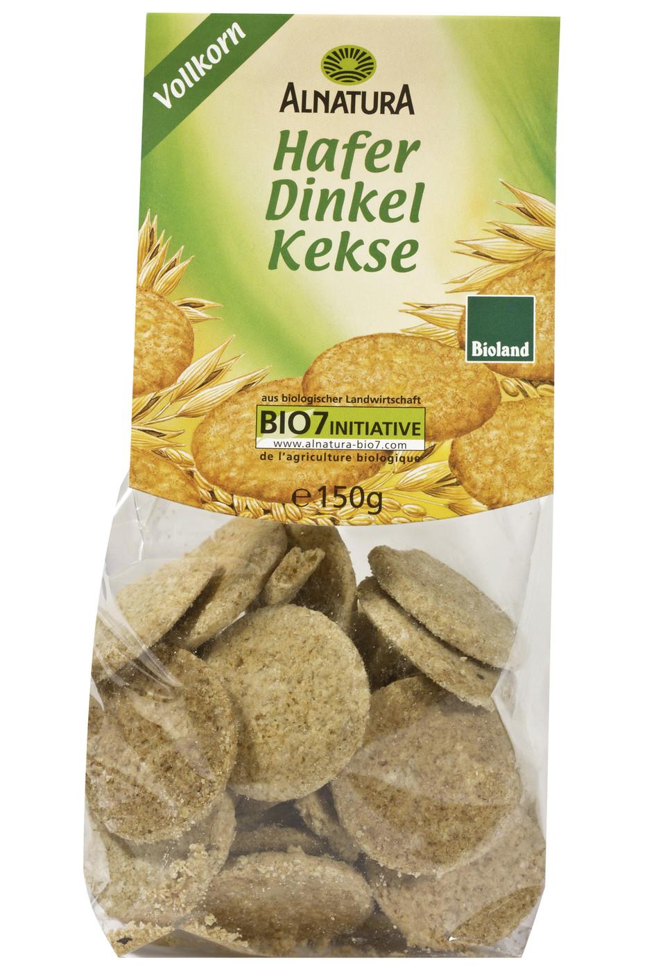 Besondere Geschenkideen von Edeka: Alnatura Bio Hafer Dinkel Kekse