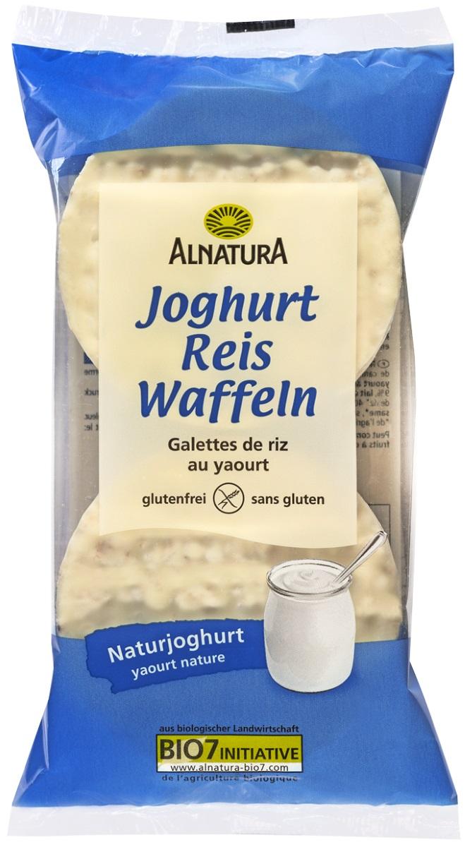 Besondere Geschenkideen von Edeka: Alnatura Bio Joghurt Reis Waffeln